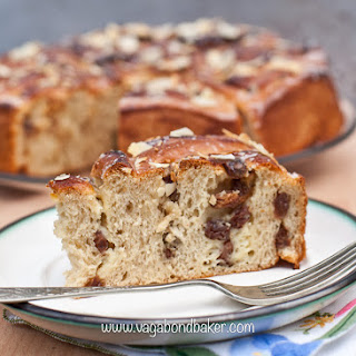 Raisin Bread Cake {Rosenkuchen}
