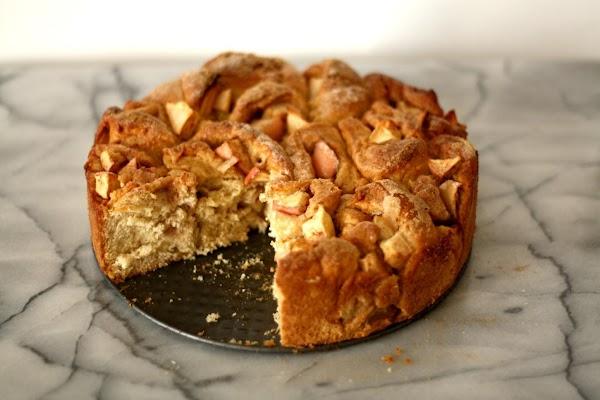 Grandma's  Apple Kuchen Recipe