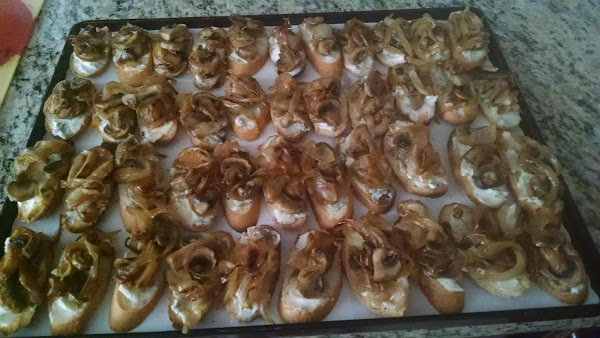 Jo's Cheese,mushroom And Onion Appetizer Recipe