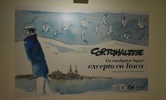 Exposición sobre Corto Maltés en la Fundación Unicaja