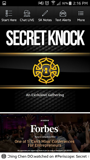 Secret Knock