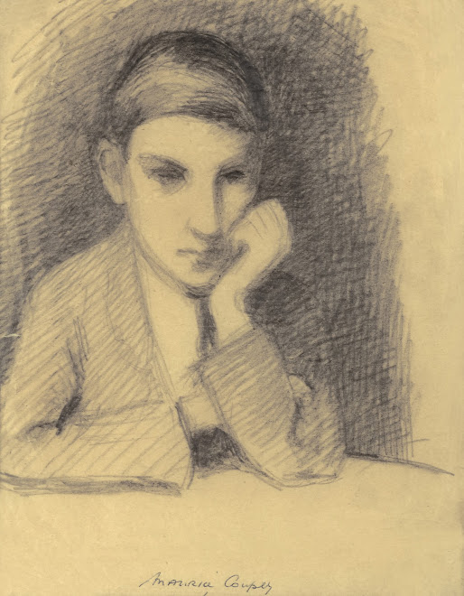 <p> <strong>L&eacute;on Coupey<br /> Portrait of Maurice Coupey</strong><br /> Graphite on paper<br /> 9&quot; x 7&quot;<br /> c1921<br /> Collection Pierre Coupey, Vancouver</p> <p> Maurice Coupey<br /> 1905 - 1997&nbsp;</p>