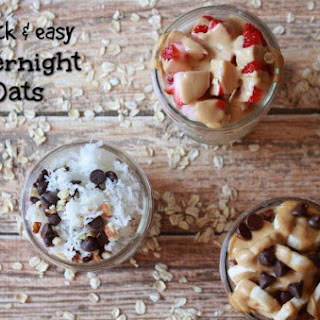 PB&J Overnight Oats Recipe