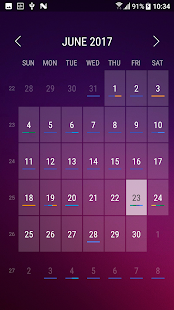 App launcher drawer - náhled