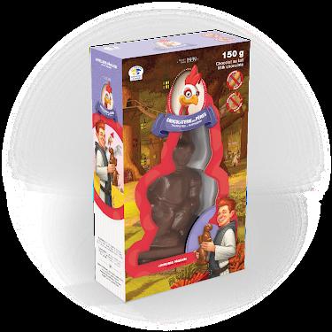 Chocolat Le lapin joueur Petites figurines