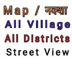 village map,district map,satellite view,street vie Icon
