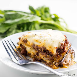 Eggplant Lasagna Recipe Without Noodles - Low Carb, Gluten-free.