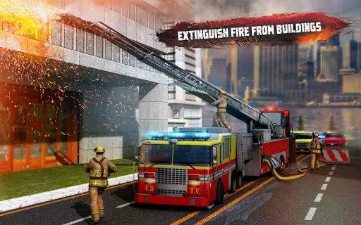 ? Rescue Fire Truck Simulator: 911 City Rescue 1.3 screenshots 9