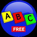 The alphabet for  children icon