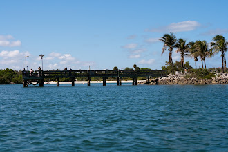 Photo: the fishing dock at Oleta