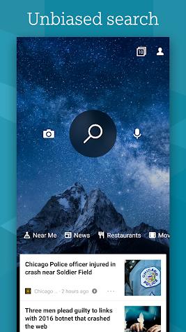 Microsoft Bing Search Screenshot