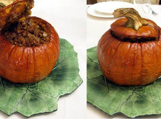 Holiday Feast Stuffed Pumpkin Recipe