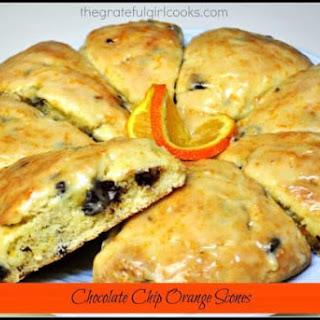 Chocolate Chip Orange Scones Recipe