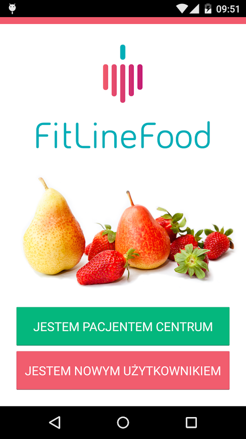 Fitlinefood- screenshot