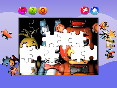 Five Nights Jigsaw Puzzles FNAF - náhled