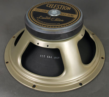 Celestion G12-35XC Pulsonic-Style 12 inch PAIR - 35W made in UK