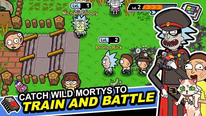 Pocket Mortys - screenshot