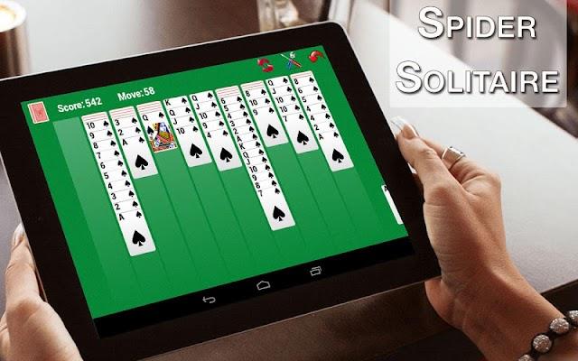 Spider Solitaire 2 - screenshot