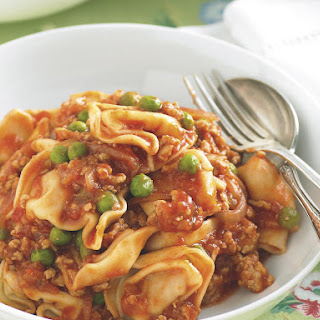 Tortellini with Pork Bolognese