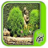 Natural Garden Walls Design