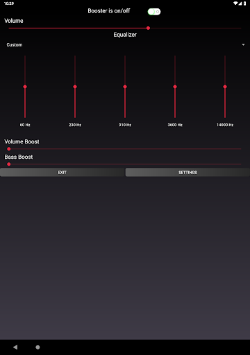 Speaker Booster with Bass Booster and Equalizer 3.1 screenshots 9