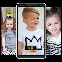 Little cute kids beautiful view Wallpaper icon