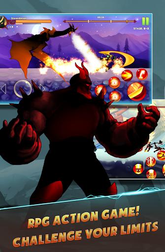 Stickman Ninja : Legends Warrior - Shadow Game RPG 1.2.2 screenshots 1
