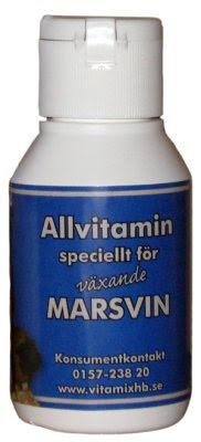 Vitaminer för Växande Marsvin 50ml