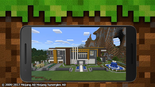 Super Mansion map for MCPE for PC