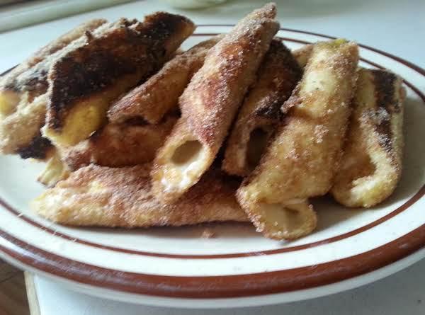 Orange Cream Stuffed French Toast Roll-ups Recipe