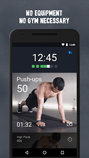 Runtastic Results Training App Screenshot 2