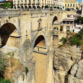 Ronda,Spain by Francis Xavier Camilleri - City,  Street & Park  Historic Districts
