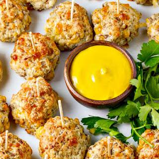Bisquick Sausage Balls with Mustard Recipe