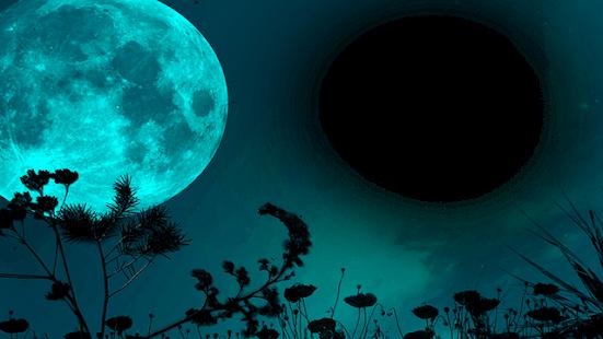 Beautiful Moon Photo Frame - náhled