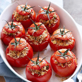 Chicken Stuffed Tomatoes.