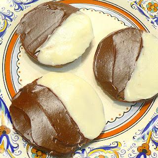 Half Moon Cookies.