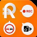RoadAR dashcam & speed camera icon