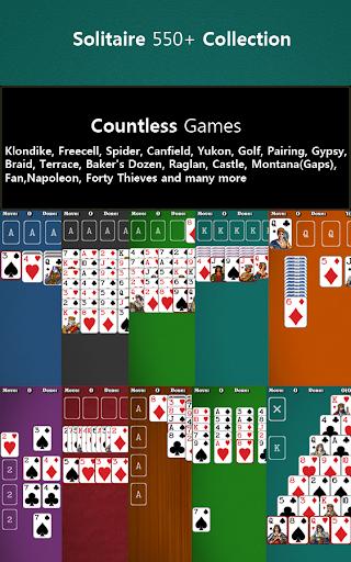 550+ Card Games Solitaire Pack Screenshot