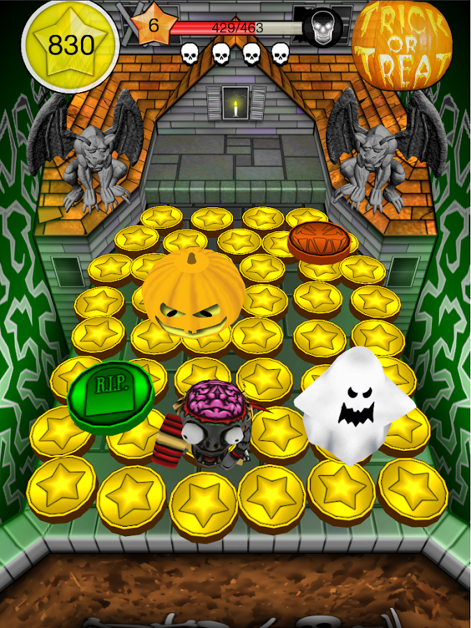 Coin Dozer Halloween- screenshot