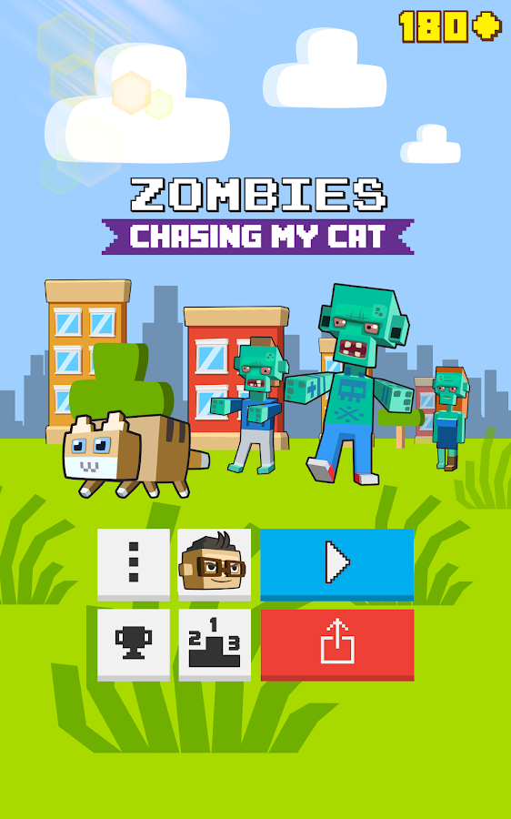 Zombies Chasing My Cat- screenshot