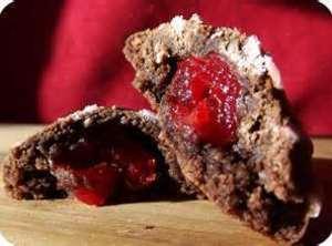 Cherry Cordial Valentine Cookies Recipe
