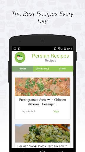 Persian cuisine: Recipes