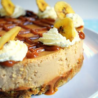Banana Rum Cheesecake.