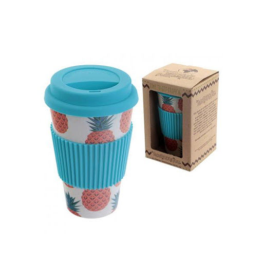 Bamboo Takeaway Cup with Full Colour All Over Wrap Print