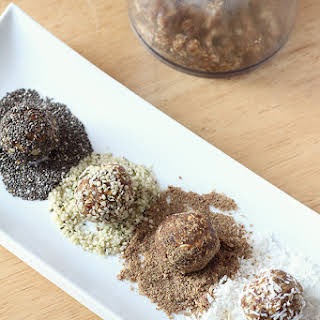 Nut Free Coconut Date Energy Balls.