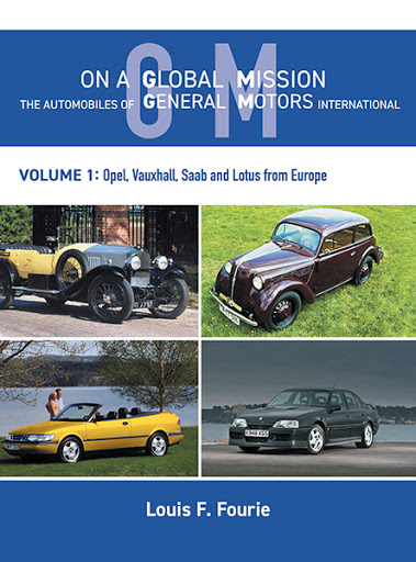On a Global Mission: The Automobiles of General Motors International Volume 1 cover