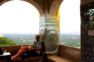 Photo: Year 2 Day 55 -  View From Just Near the Top of Mandalay Hill