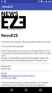 NewsEZE- screenshot thumbnail