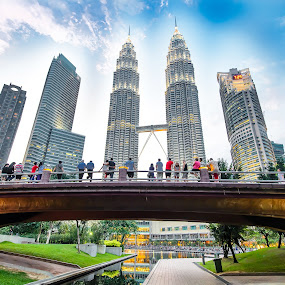 Majestic Petronas Twin Tower by Daniel Dan - Buildings & Architecture Office Buildings & Hotels