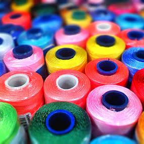 the yarn by Wahyu Jr. Abadi - Abstract Fine Art ( abstract, still life, art, yarn,  )